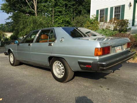 auto air conditioning repair 1986 maserati quattroporte on board diagnostic system 1986 maserati quattroporte for sale in boston massachusetts united states