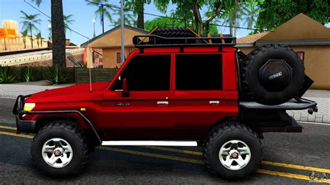 land cruiser road toyota land cruiser 70 road v2 0 for gta san andreas