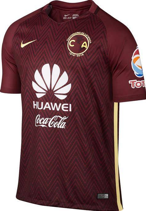 Setelan Jersey Nike Motif Barcelona club america 2016 17 centenary kits revealed