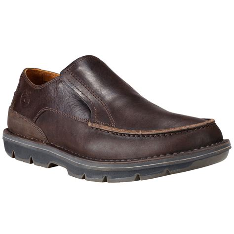 shoes on timberland men s coltin slip on shoes brown bob s