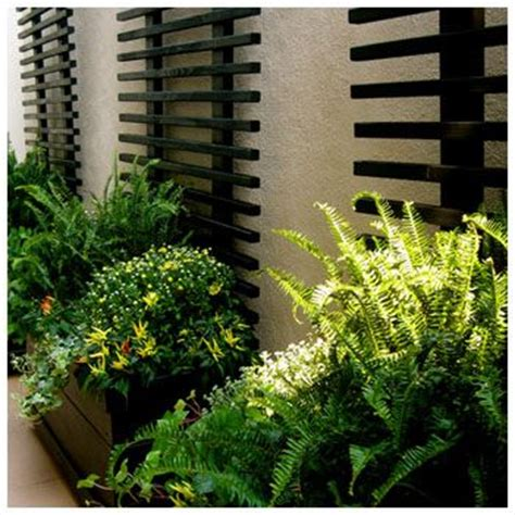 Black Wood Trellis 50 Modern Front Yard Designs And Ideas Renoguide