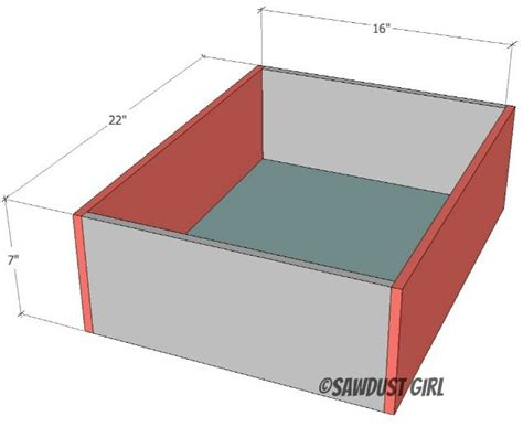 Drawer Plans Free by Vanity With Center Drawers Free Plans Sawdust 174