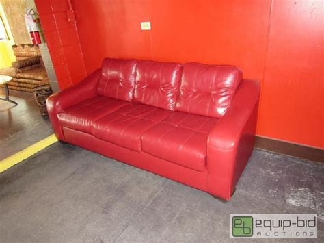 red vinyl couch red vinyl couch jasmine hookah lounge liquidation
