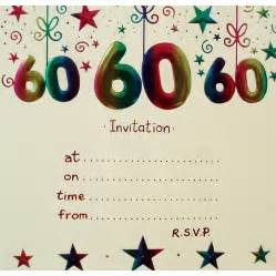 60th birthday invitations templates cloudinvitation com