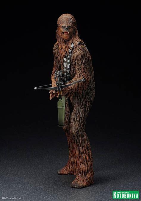 wars han chewbacca artfx statue needless