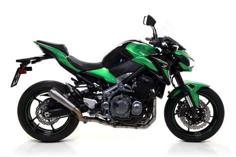 Kawasaki Z900 by Titanium Pro Race Exhaust By Arrow Kawasaki Z900 2018