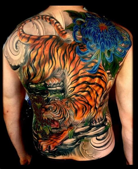 tiger tattoo by mefisto tattoo tiger back piece tattoos pinterest back pieces and