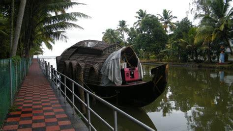 old boat jetty kottayam kumarakom walkway a casual place to see at kumarakom
