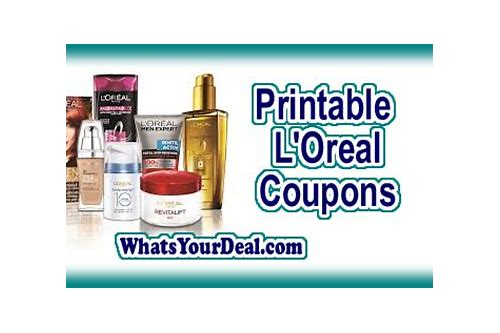loreal coupons $3/1