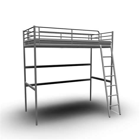 ikea loft bed troms 214 loft bed frame design and decorate your room in 3d