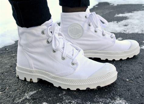 white palladium boots chaussures