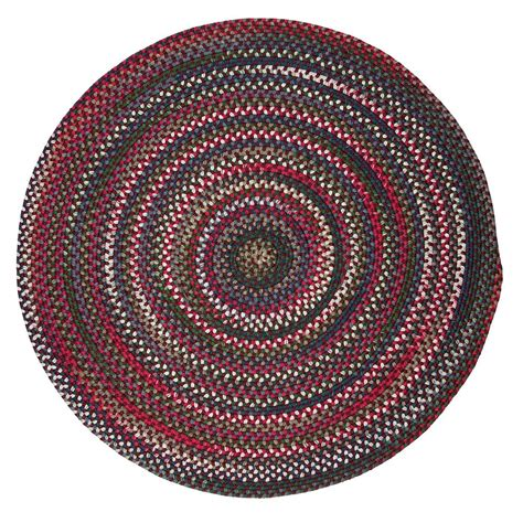10 ft braided rugs home decorators collection mayberry rosewood multi 10 ft