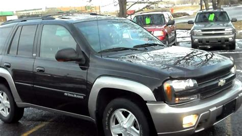 2002 chevrolet trailblazer ltz 4dr suv 4x4 4 2 6cyl leather p roof very sharp and clean