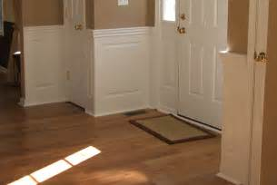 Raised Wainscoting Panels Home Depot - staircase amp foyer wainscoting ideas from wainscoting america customers