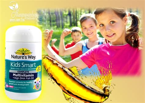 Natures Way Smart Omega 3 Fish High Dha 50softgel Jne Regyes dầu c 225 smart mulltivitamin high dha fish 50