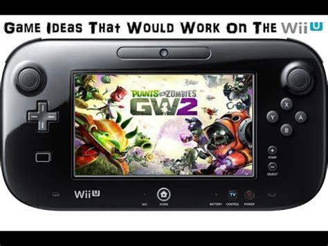 Plants Vs Zombies Garden Warfare Wii by Ideas That Would Work On The Wii U Plants Vs Zombies