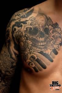 Pin japanese skull tattoos designs and ideas on pinterest