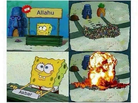 Allahu Akbar Meme - spongebob s hype stand allahu akbar know your meme