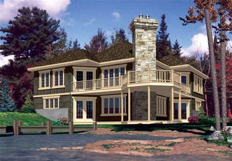 lakefront home designs lakefront home plans home design 641