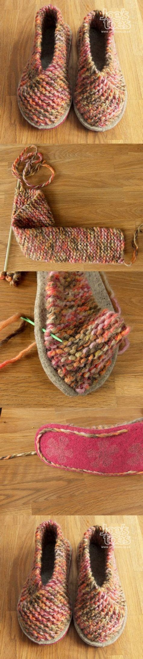how to make knitted slippers knitted slippers pattern the sweetest ideas the whoot