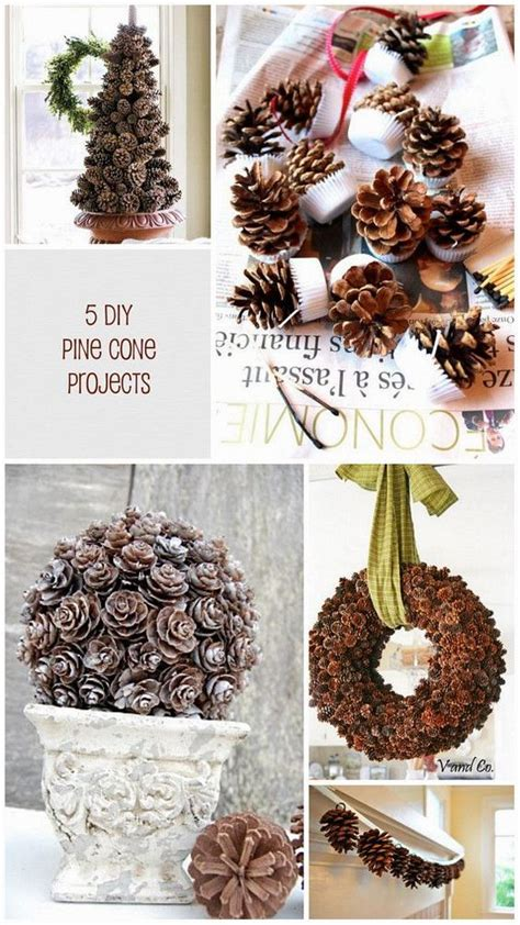 pine cone diy 5 pine cone diy projects for fall pine cone craft ideas crafts pine and the pines