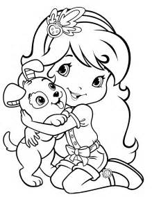 coloring book pages strawberry shortcake strawberry shortcake 73 coloringcolor