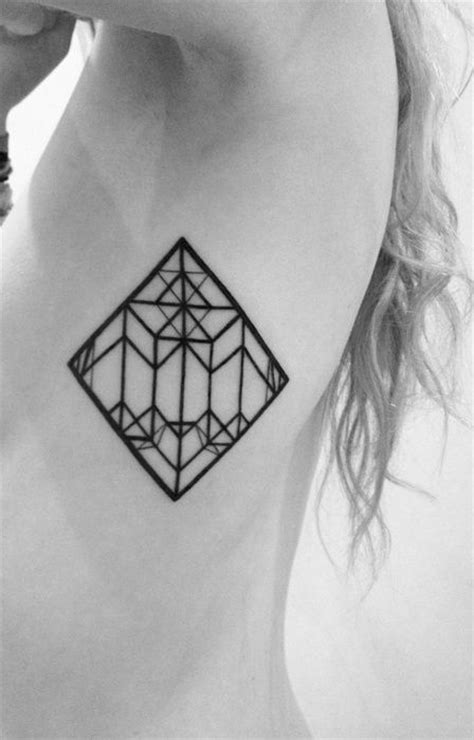 geometric tattoo underarm geometric and pattern tattoos inspiring tattoos