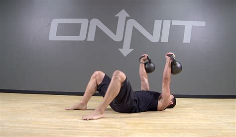 Floor Press Exercise by 6 Kettlebell Exercises To Build Onnit Academy