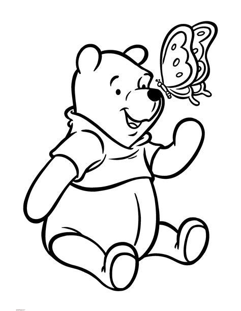 imagenes de winnie pooh sin pintar dibujos para pintar winnie pooh online dibujos para pintar