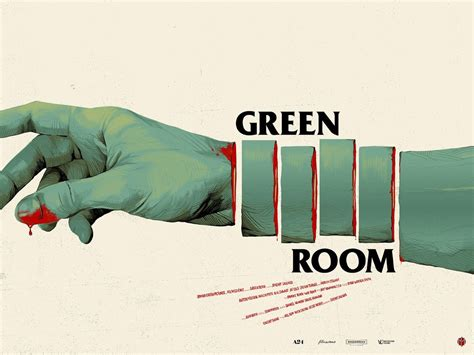 green room posters and cover fried