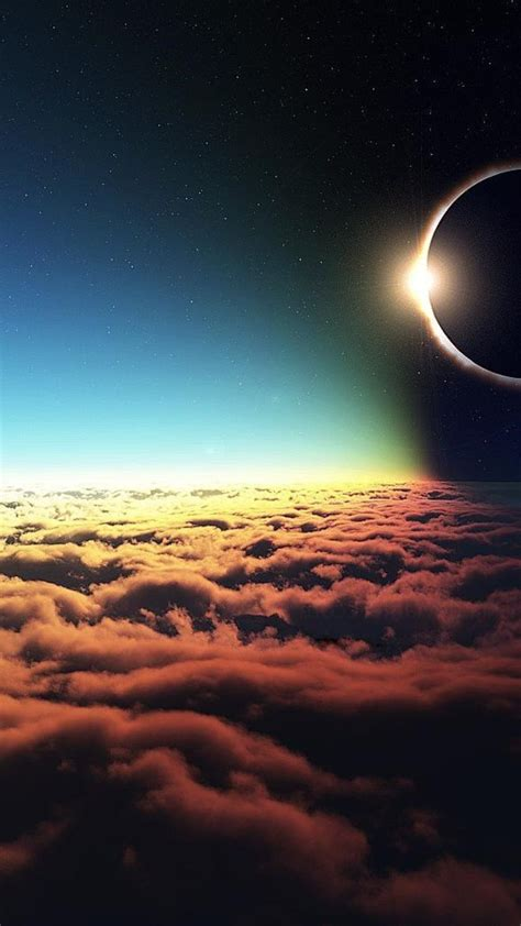 iphone backgrounds solar eclipse wallpapers
