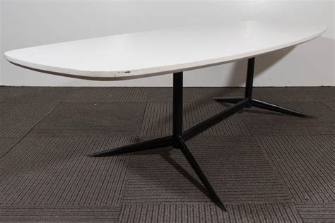Eames Inspired Sufboard White Laminate Top Coffee Table White Laminate Coffee Table