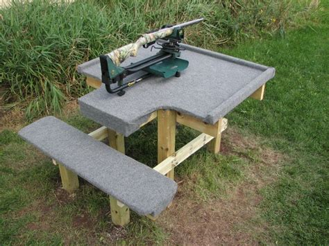 build your own shooting bench plans for wood shooting bench woodworking projects plans