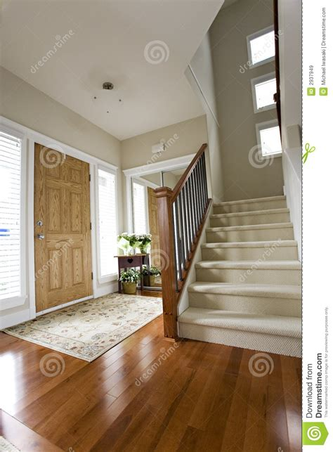 house front hall entrance royalty  stock images