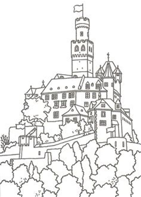 castle moat coloring page castle surrounded by a moat filled with water with the