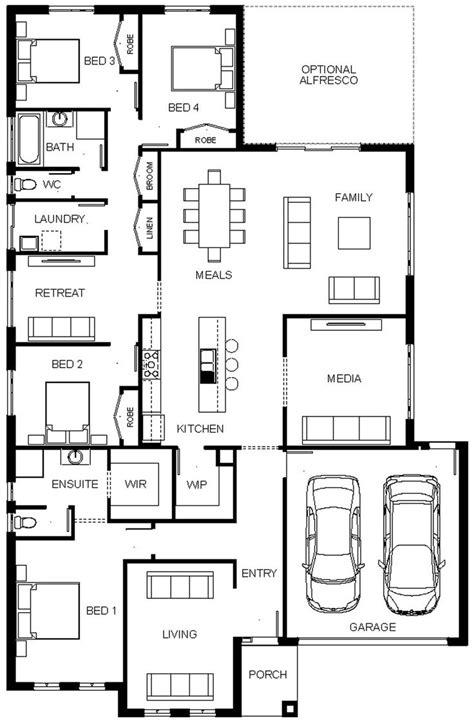 denah layout furniture 127 best house plan images on pinterest house design