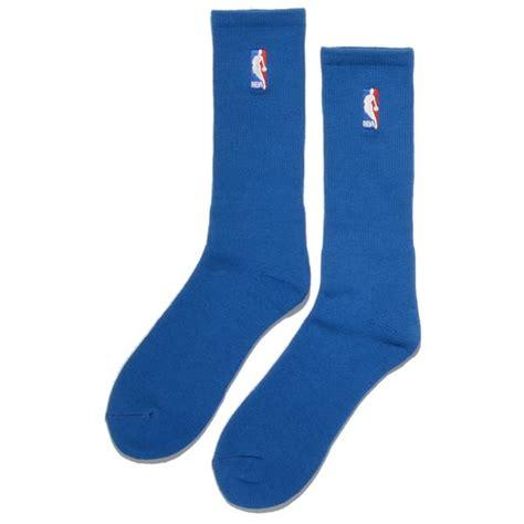 blue socks for bare a301 crew nba socks royal blue bei kickz