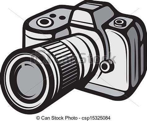 vector of compact digital camera (digital photo camera