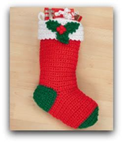 simple crochet pattern for christmas stocking free crochet christmas patterns for cute stockings