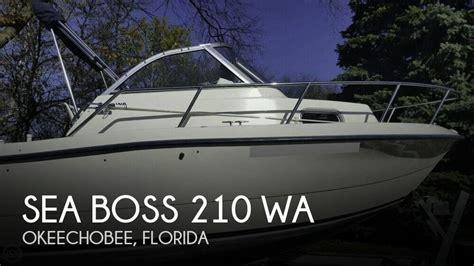 pontoon boats for sale okeechobee fl sold sea boss 210 wa boat in okeechobee fl 090961