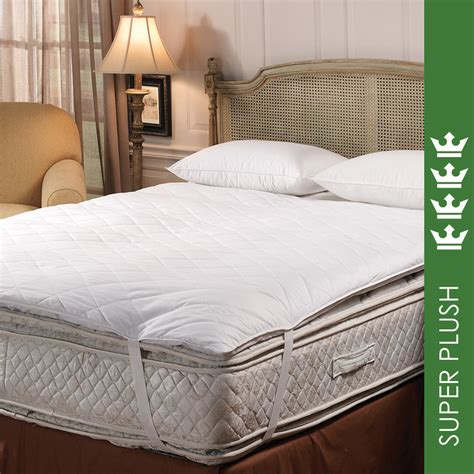 down feather bed luxury hotel white goose down 5 95 fill baffle box feather
