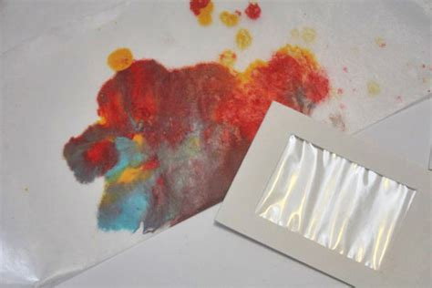 wax paper crayon craft wax paper crayon window gift tags factory direct craft