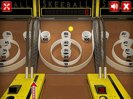 play skee ball online for free pog.com