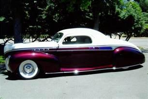 1941 lincoln zephyr custom 3 window coupe 81035