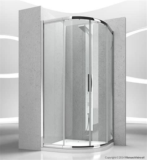 box doccia porte scorrevoli box doccia angolare semicircolare in cristallo con porte