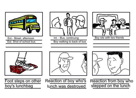 storyboard sle comic book storyboard