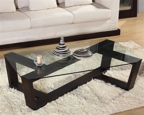 modern glass coffee table 29 chic glass coffee tables that catch an eye digsdigs