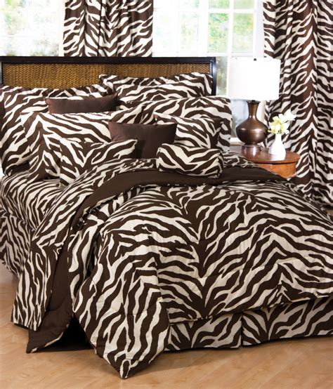 zebra bed comforter brown zebra print bed set interiordecorating