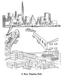 color nyc ny coloring sheets coloring pages