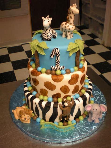 cake gallery jungle animals
